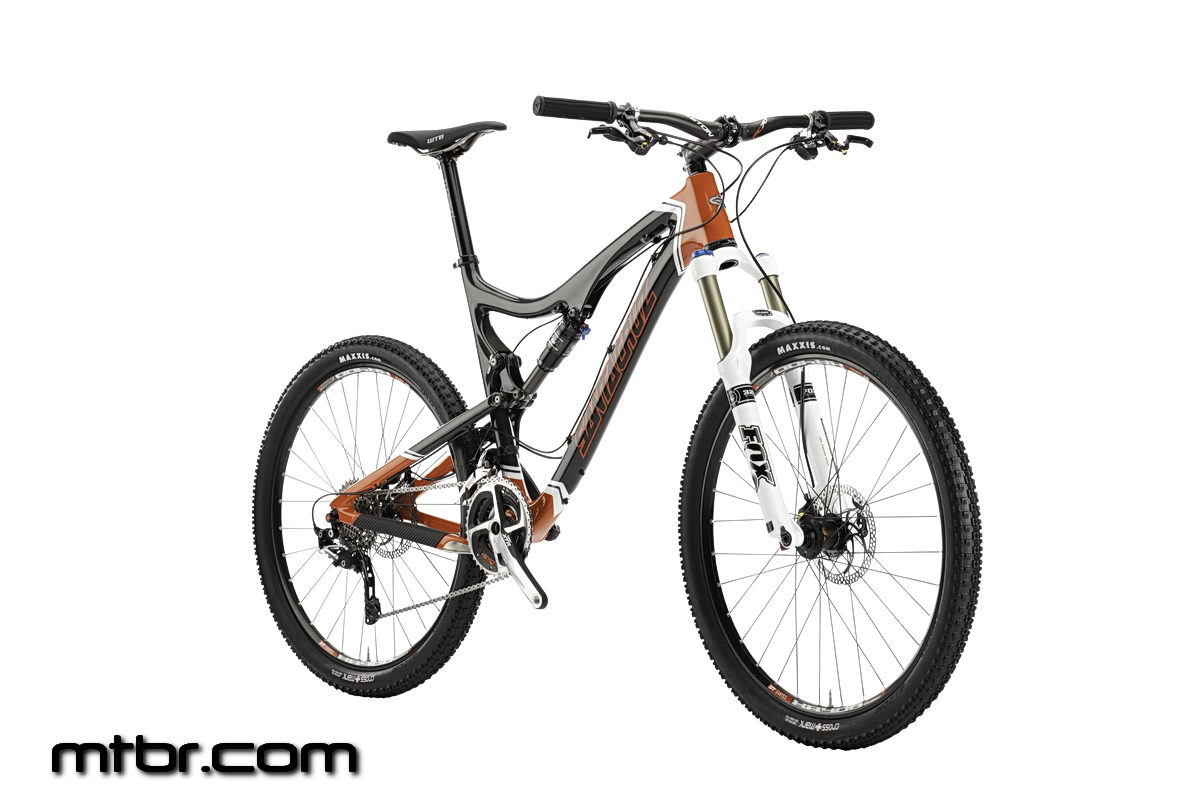 Santa Cruz Blur TRc Gloss Carbon Orange