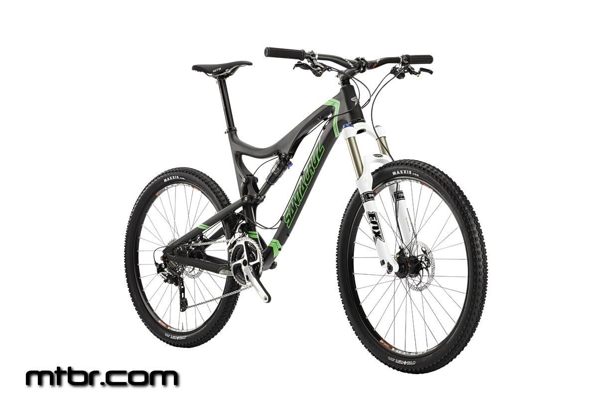 Santa Cruz Blur TRc Matte Carbon Green