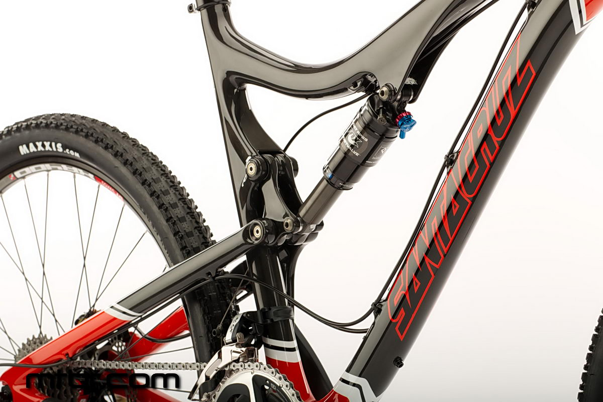 Santa Cruz Blur TR Carbon - carbon fiber frame and swingarm