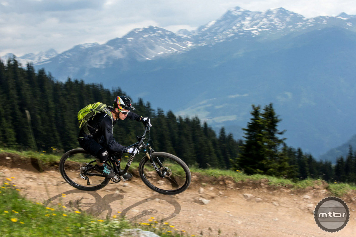 BMC Speedfox at Lenzerheide Bike Park