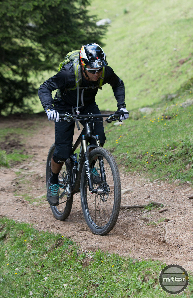 BMC Speedfox climbing