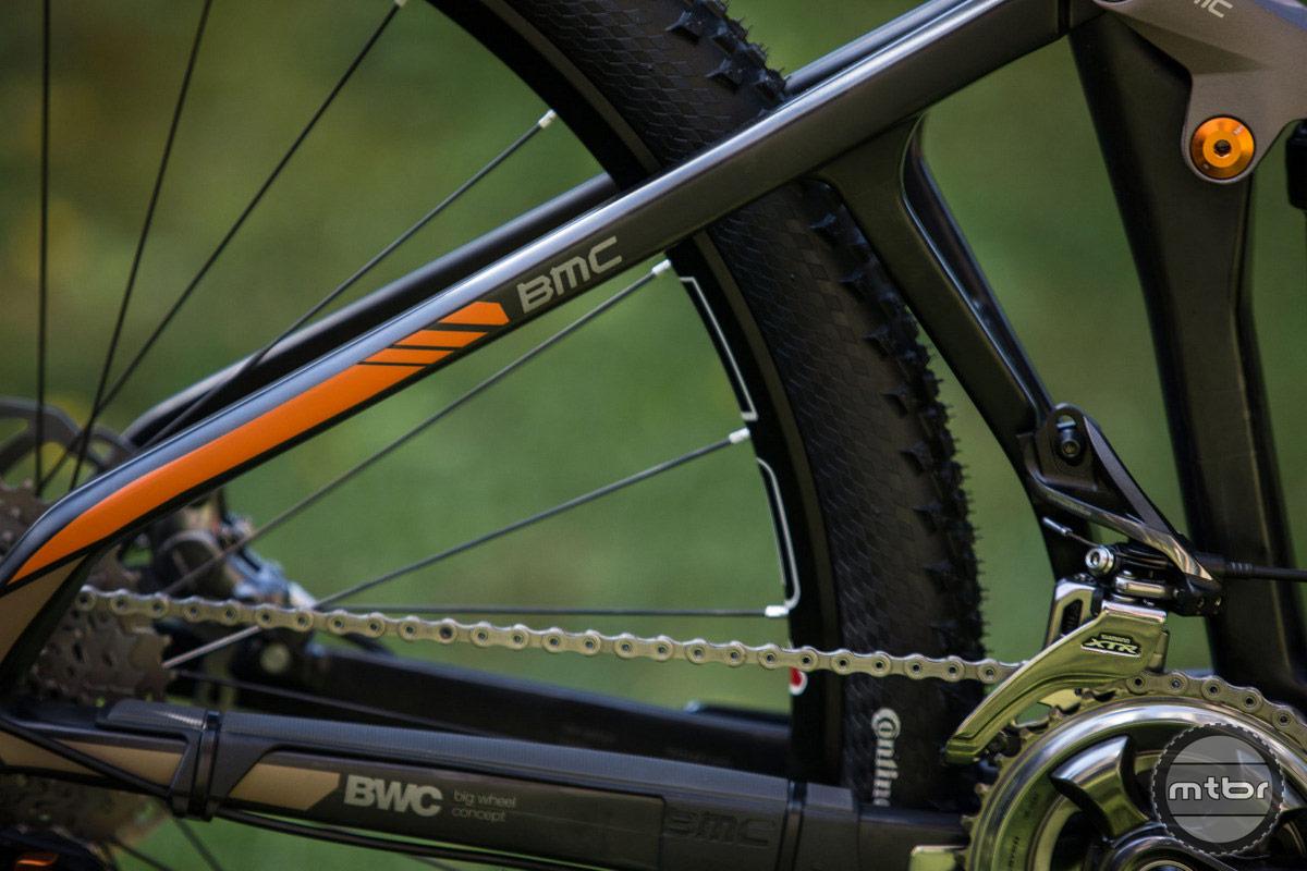 BMC Speedfox front der mount