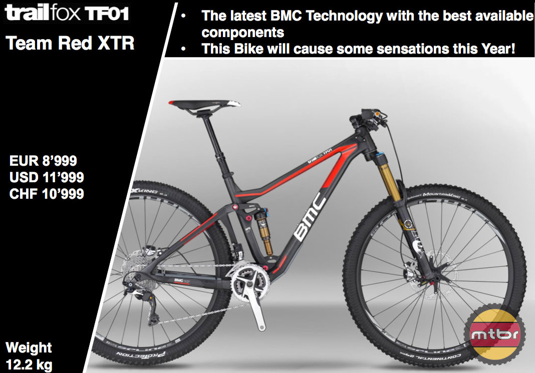 BMC TF01 Team Red XTR