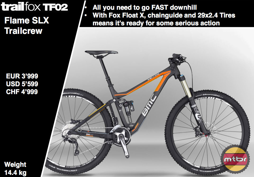 BMC TF02 Flame SLX Trailcrew