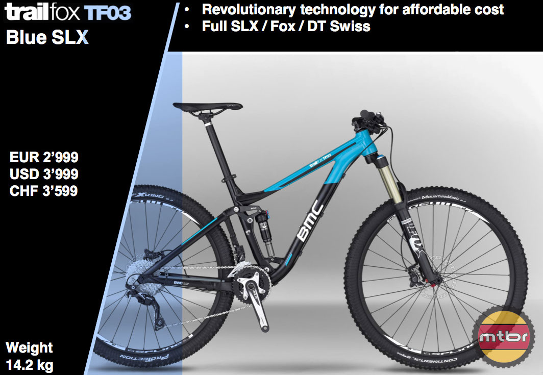 BMC TF03 Blue SLX