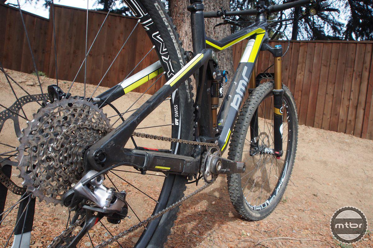 BMC TrailFox 01 Drivetrain