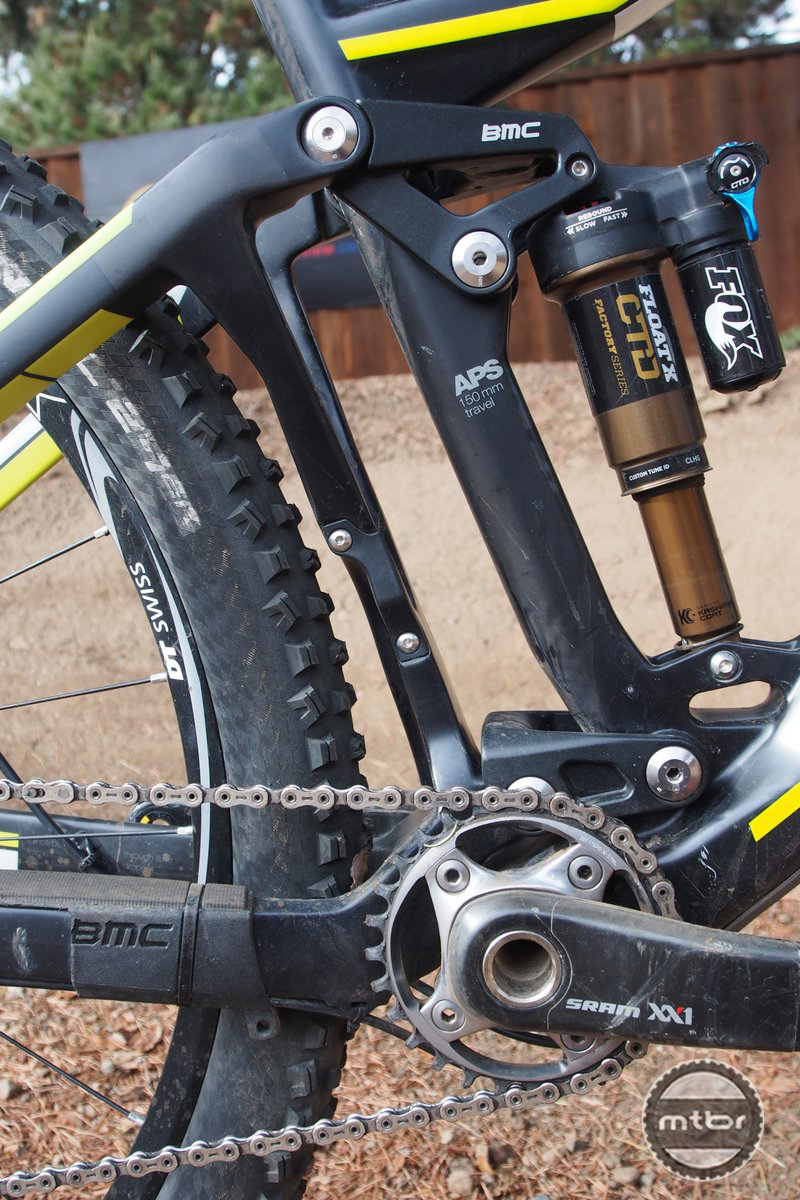 BMC TrailFox 01 Suspension