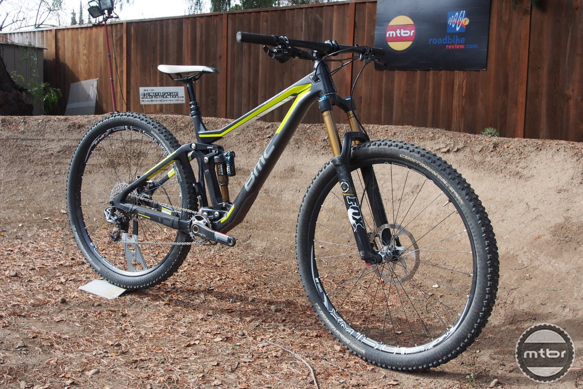 BMC TrailFox 01 Three Quarter