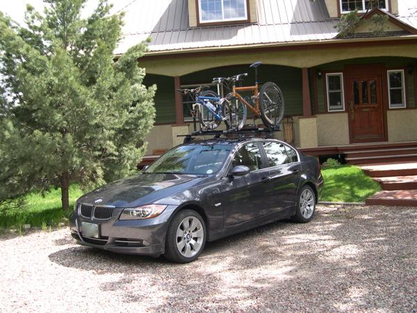 E BMW Racks Mtbrcom - Bmw 335i bike rack