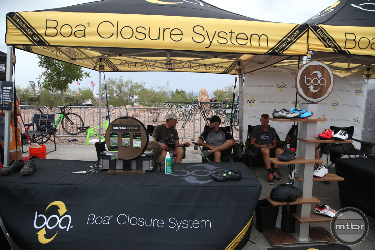 Boa 2015 Interbike Booth