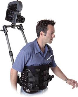 Stunt man body mount