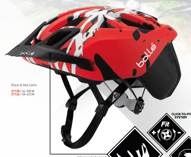 The MTB version comes in Black & Red Camo and Black & Brown Camo.