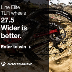 Bontager Line Elite TLR Wheels giveaway