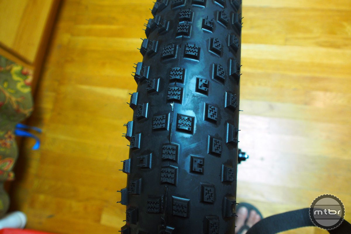 Bontrager Hodag Profile From Top