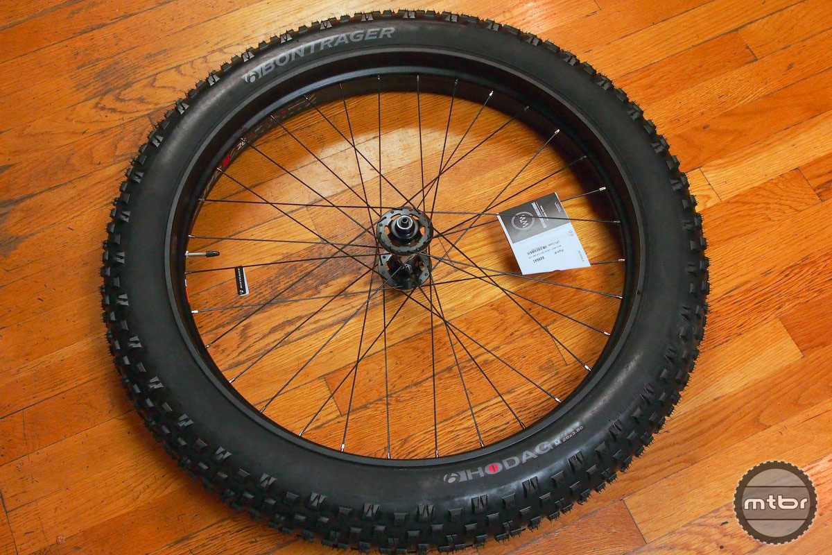 Bontrager Jackalope Wheel and Hodag Tire