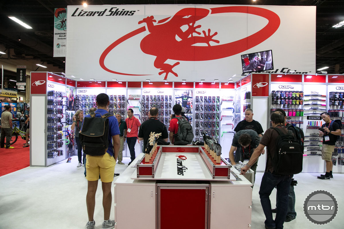 Lizard Skins Interbike 2015 Booth