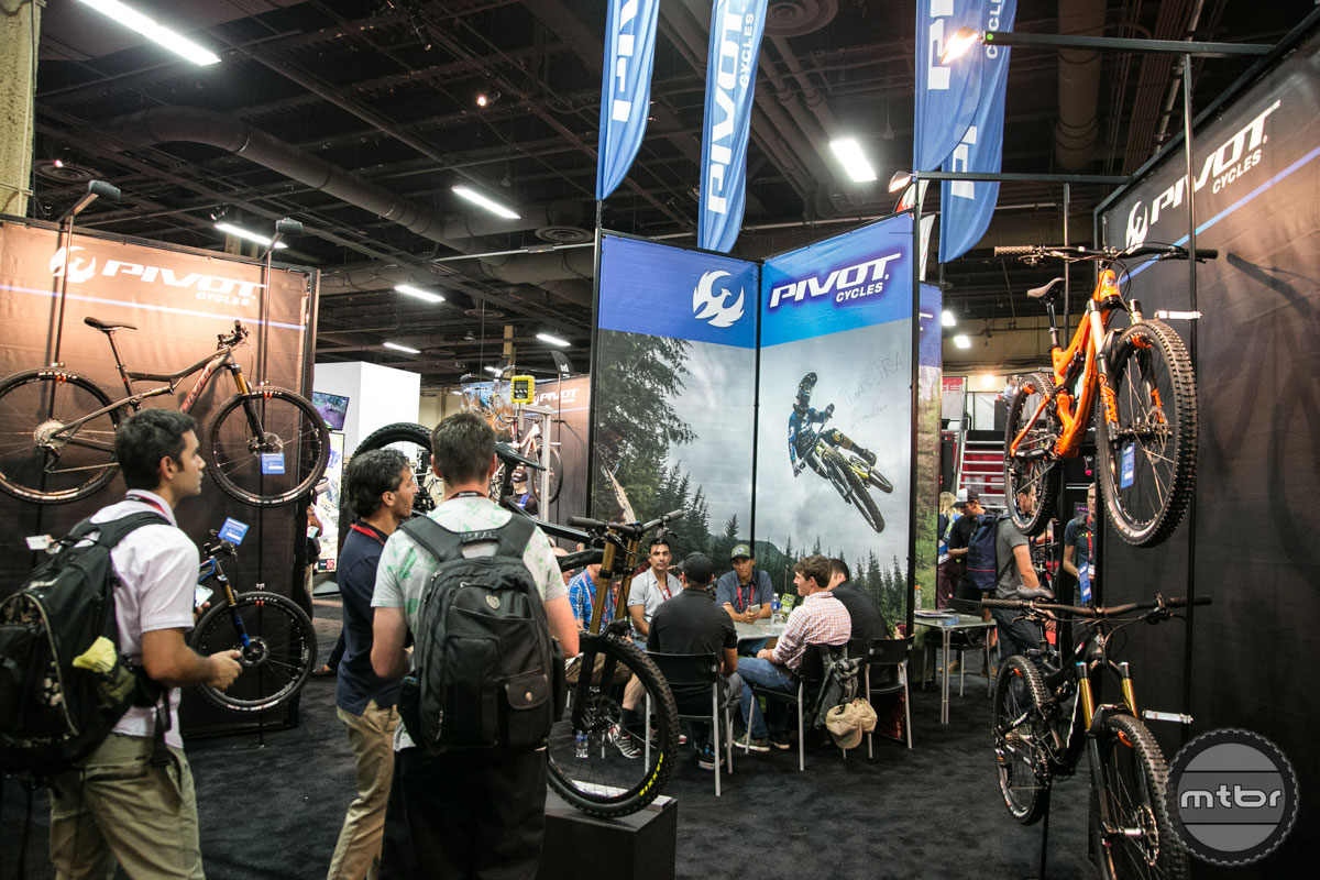 Pivot Interbike 2015 Booth