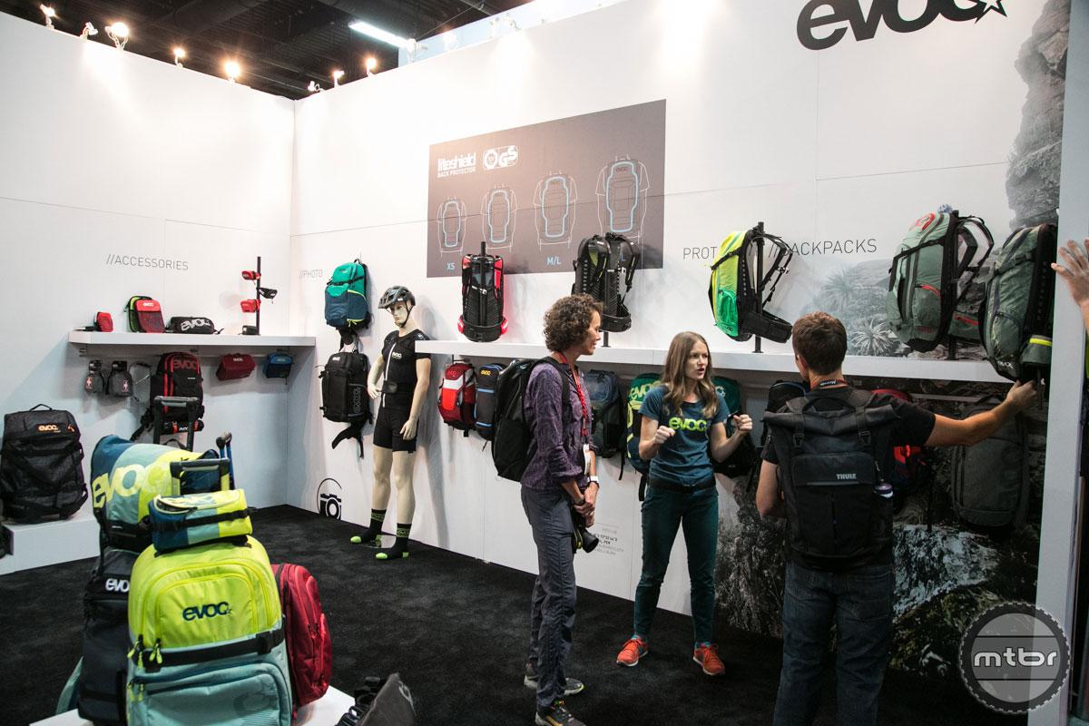 EVOC Interbike 2015 Booth