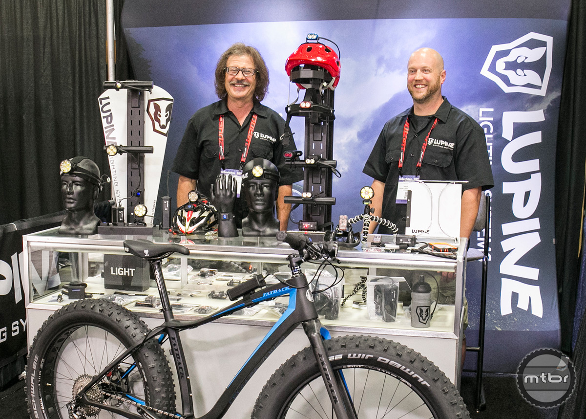 Lupine Interbike 2015 Booth