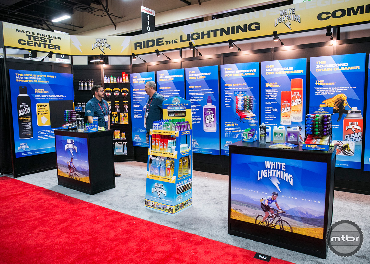 White Lightning Interbike 2015 Booth
