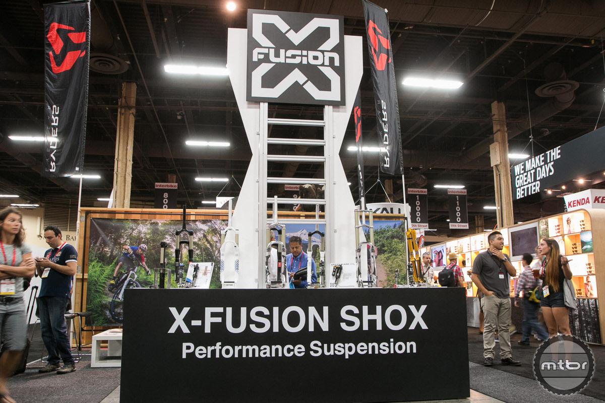 X-Fusion Interbike 2014 Booth