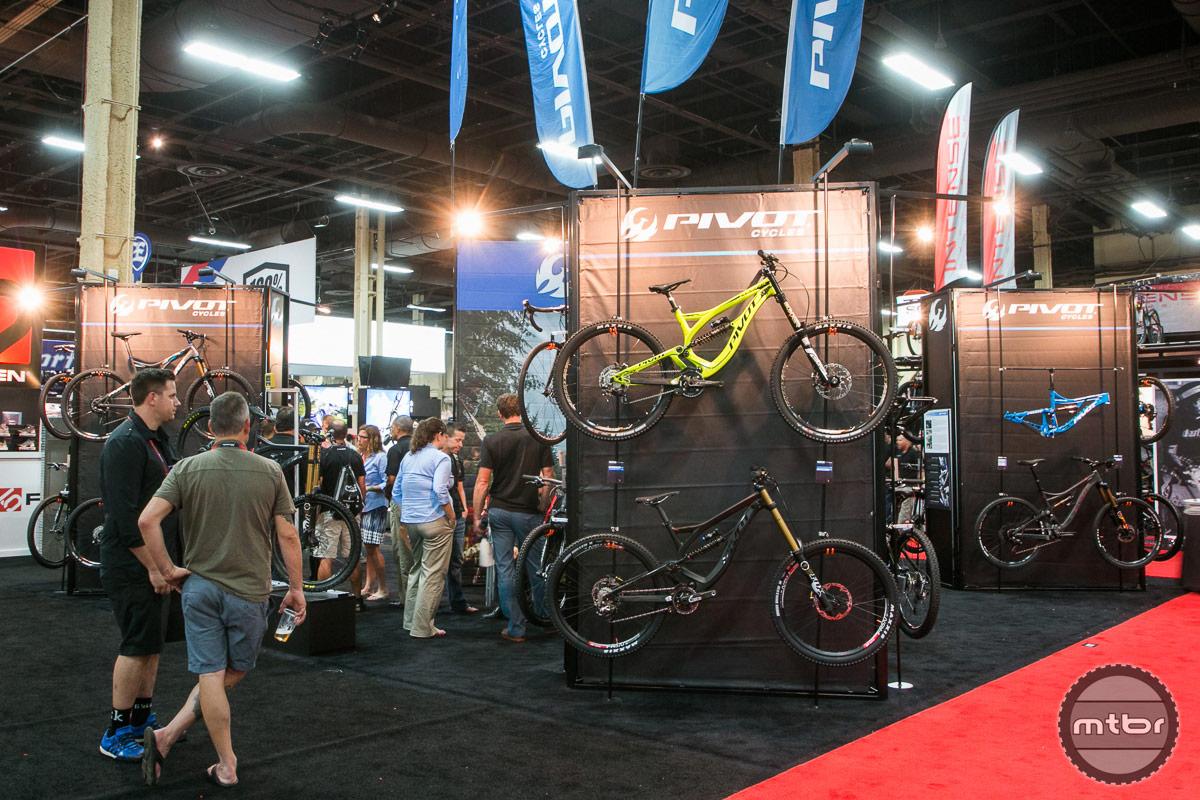 Pivot Interbike 2014 Booth