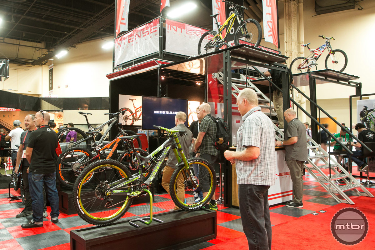 Intense Cycles Interbike 2014 Booth