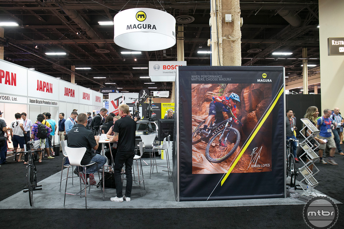 Magura Interbike 2015 Booth