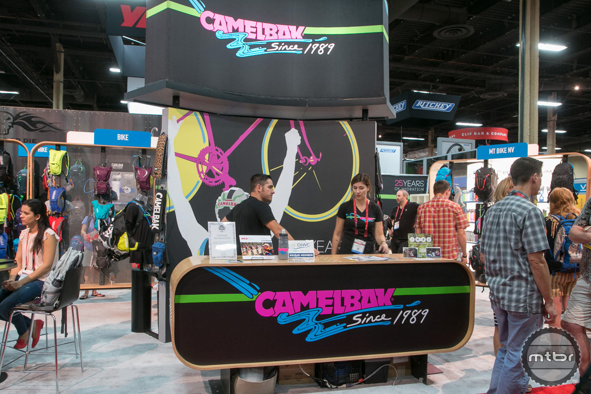 CamelBak 2014 Interbike Booth