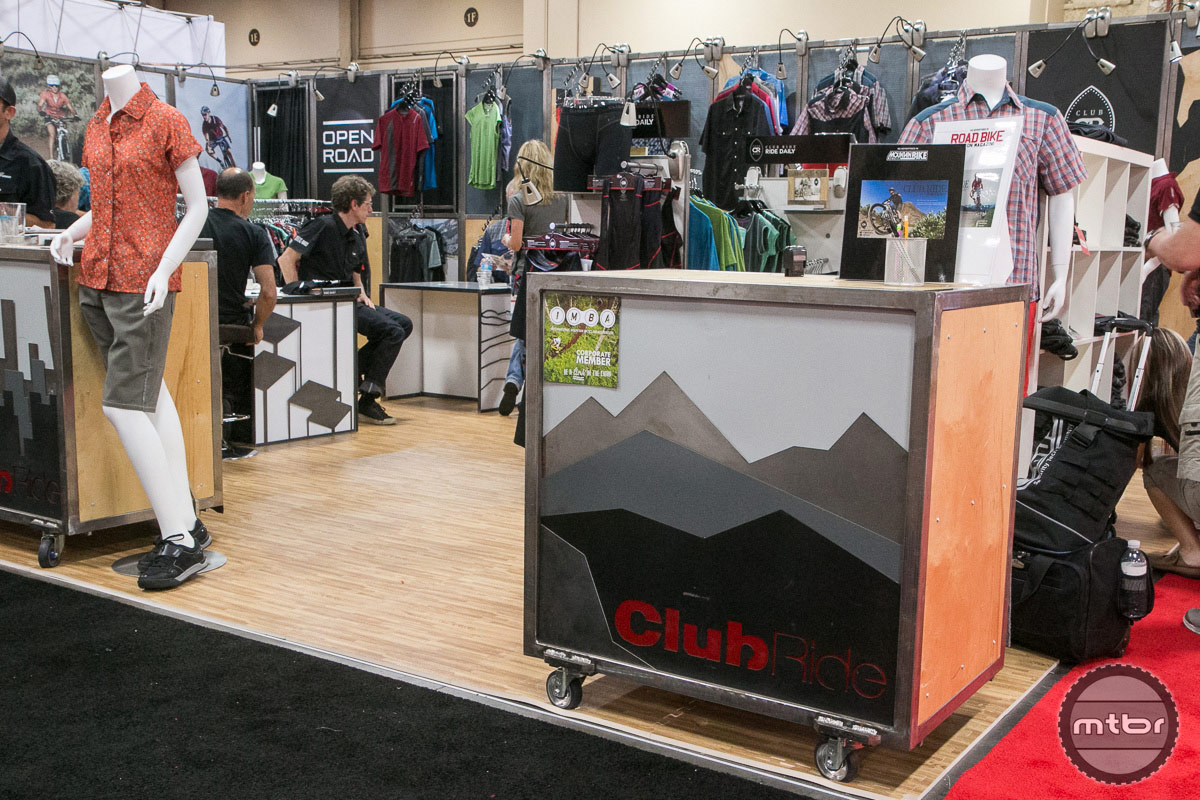 Club Ride Interbike 2014 Booth