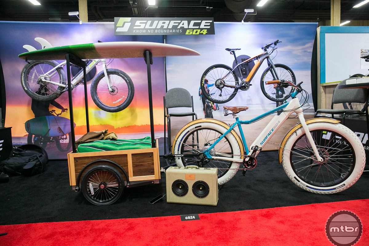 Surface 604 Interbike 2015 Booth