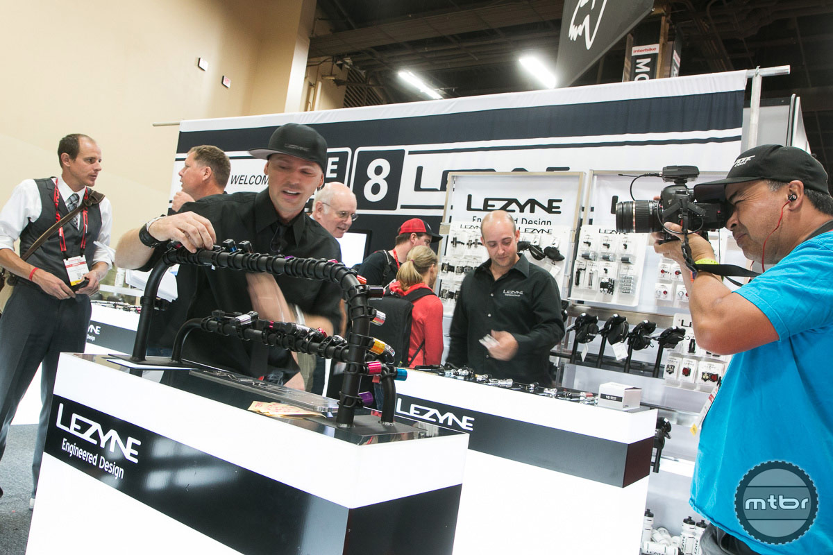Lezyne Interbike 2014 Booth