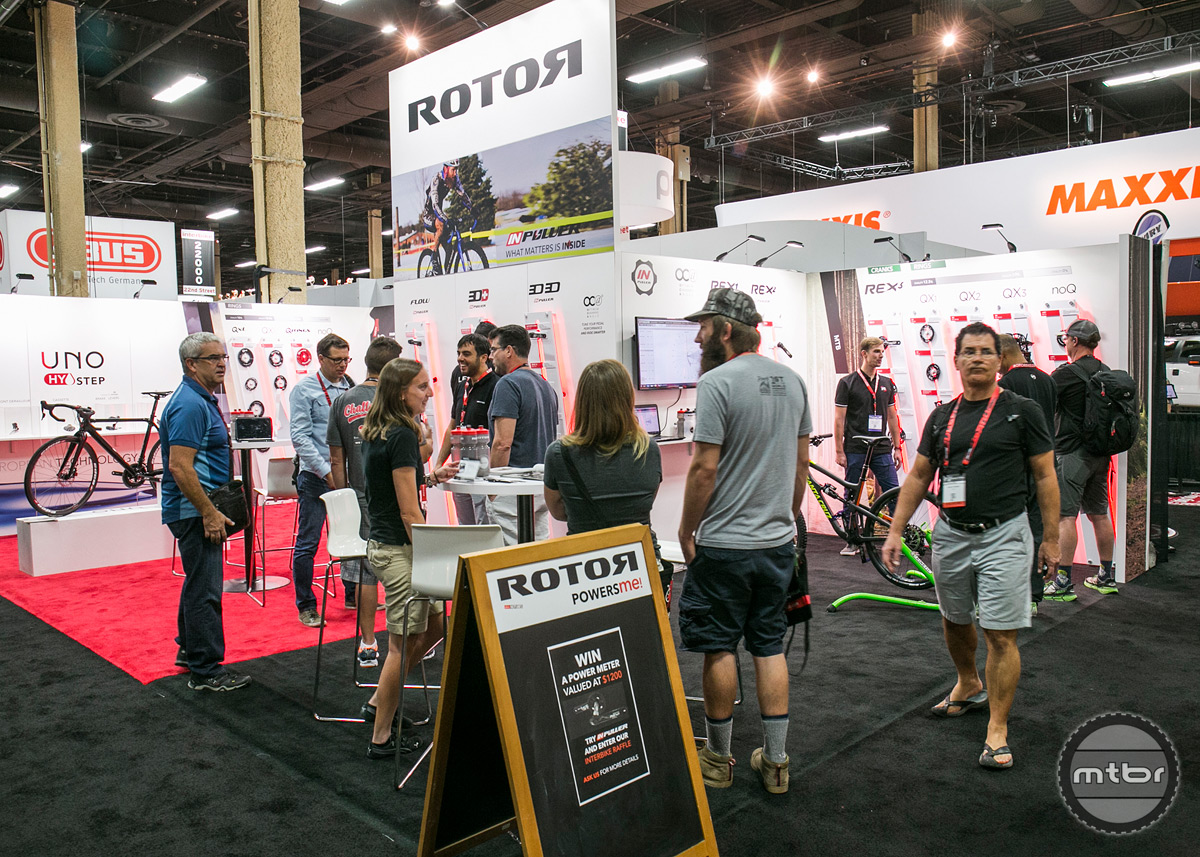 Rotor Interbike 2015 Booth