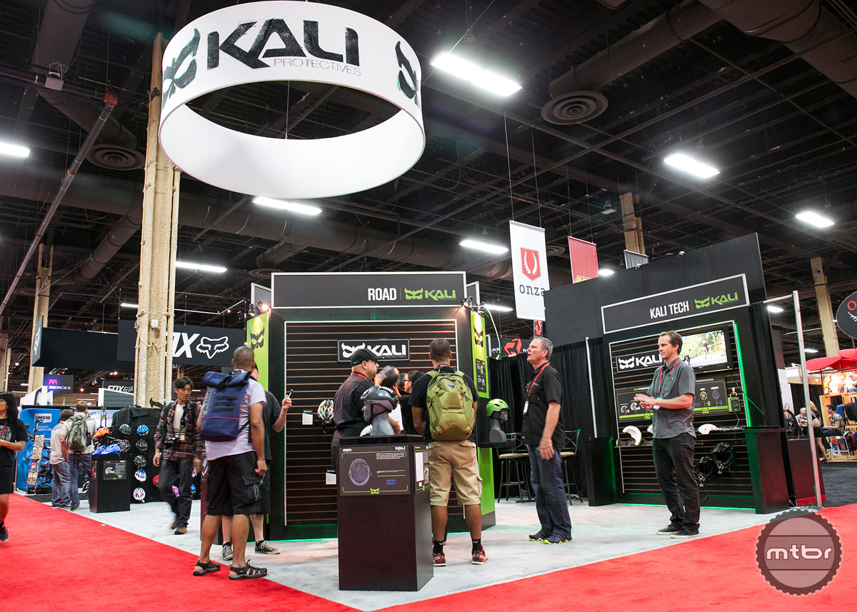 Kali Interbike 2015 Booth