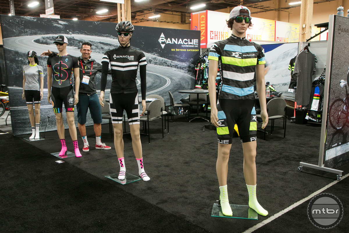 Panache Cyclewear Interbike 2014 Booth