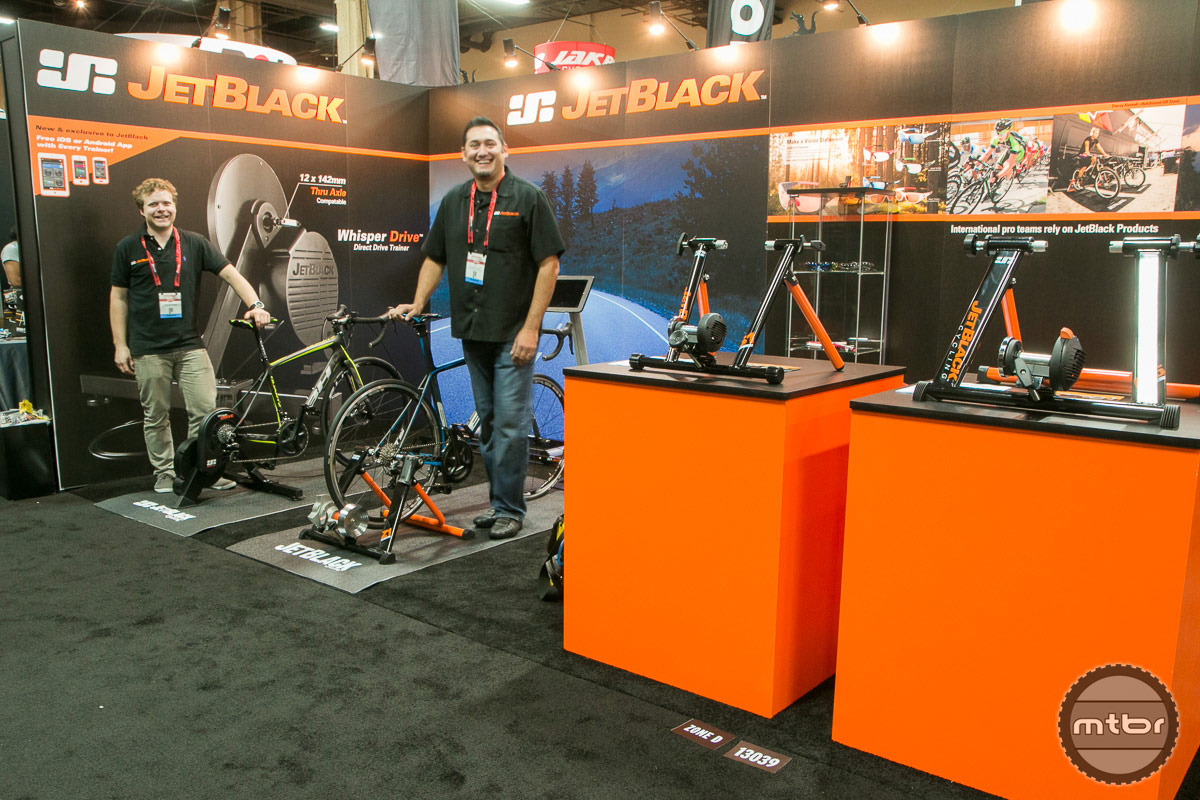 JetBlack Interbike 2014 Booth
