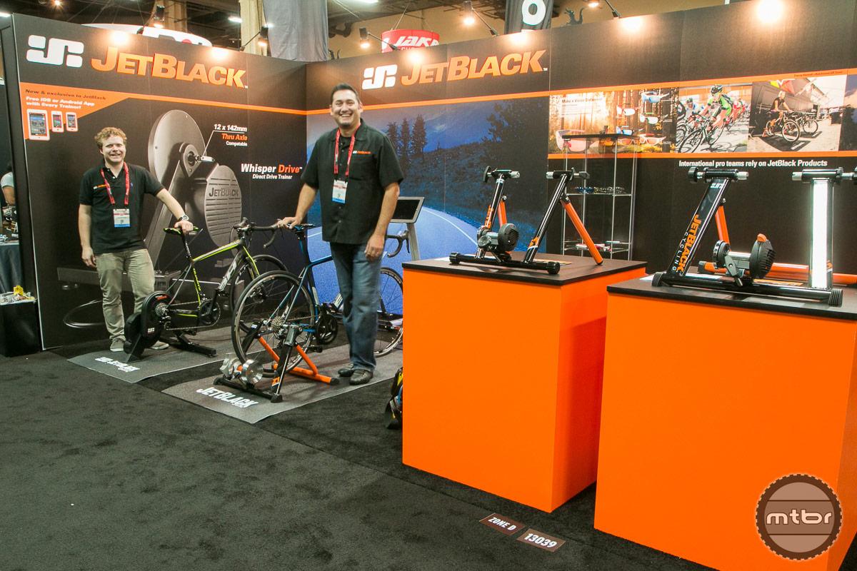 JetBlack Interbike 2014 Booth