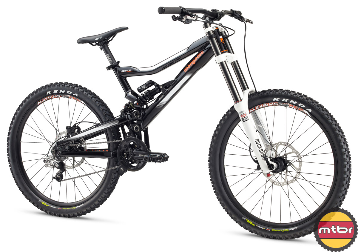 Mongoose 2014 Meteore 27.5 And Boot'R DH Mountain Bike