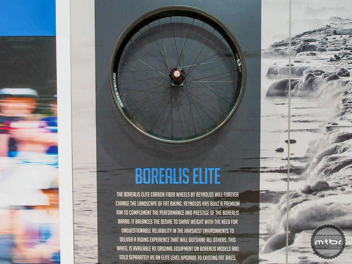 Borealis Elite Carbon Fat Bike Wheel