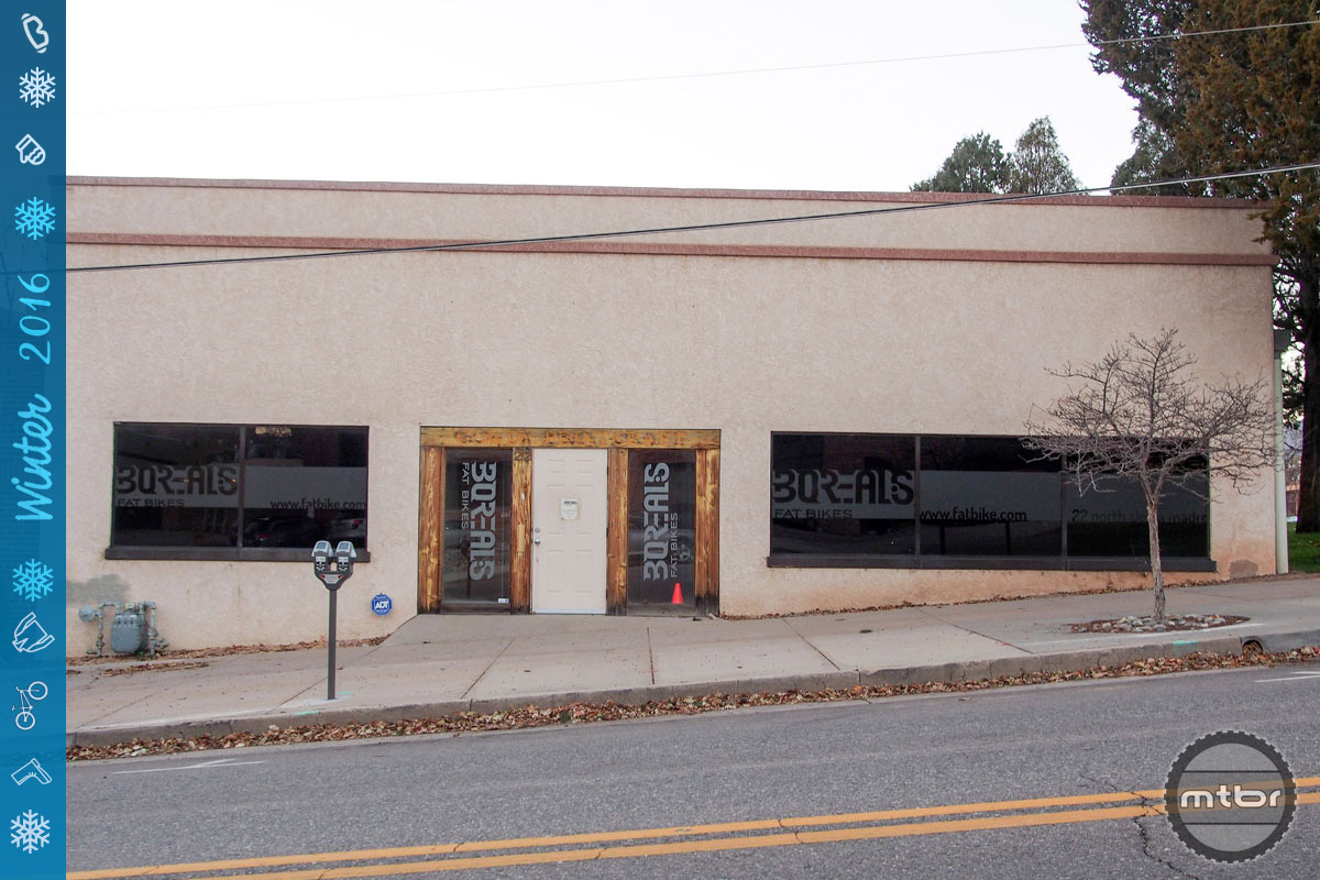 It used to be a print shop. Now this building near downtown Colorado Springs houses one of America's best known fat bike makers.