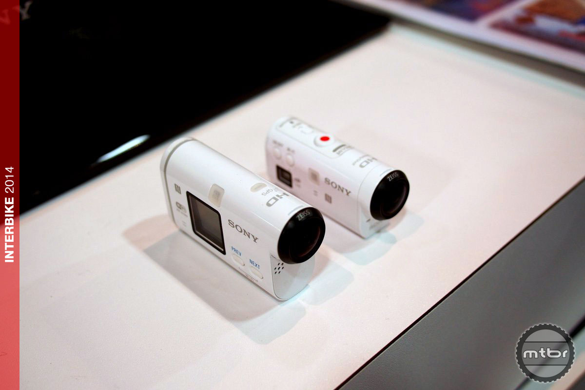 Both Sony Cameras Front View
