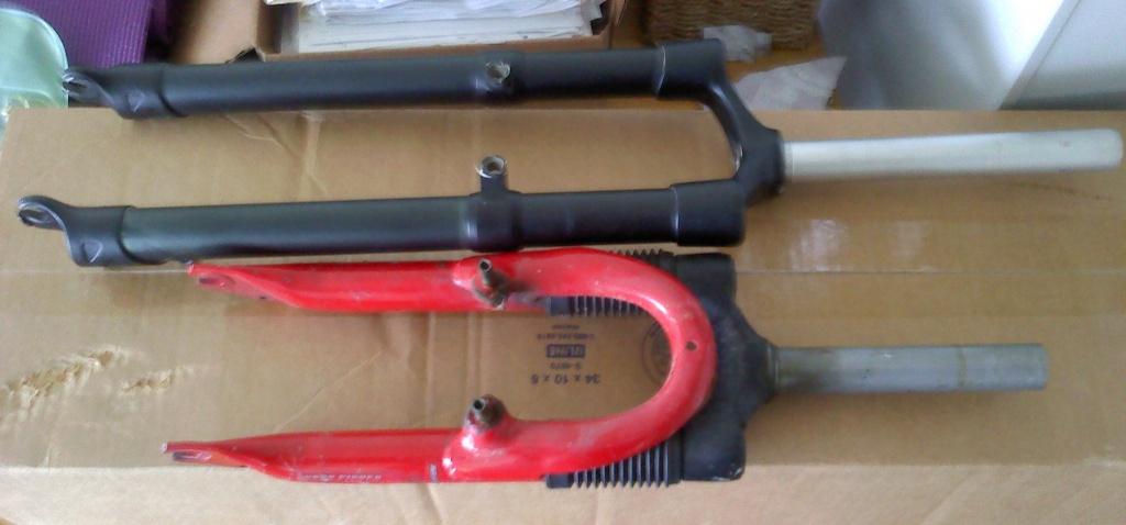 """Rigid Fork Option for 20"""" and 24"""" bikes - shorten a 29er fork!-bothforks.jpg"""