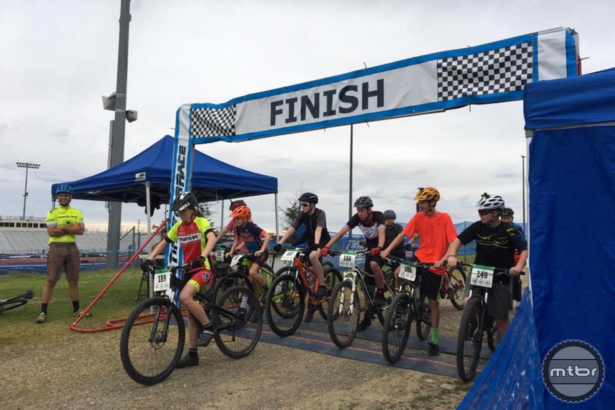 Boys Race Start