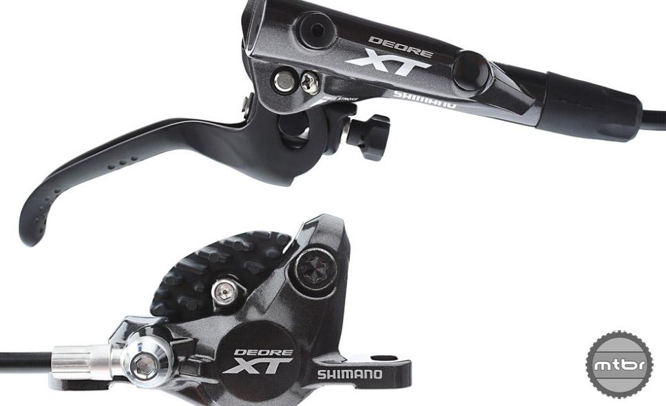Shimano M8000 XT Brakes. Photo courtesy of Art's Cyclery