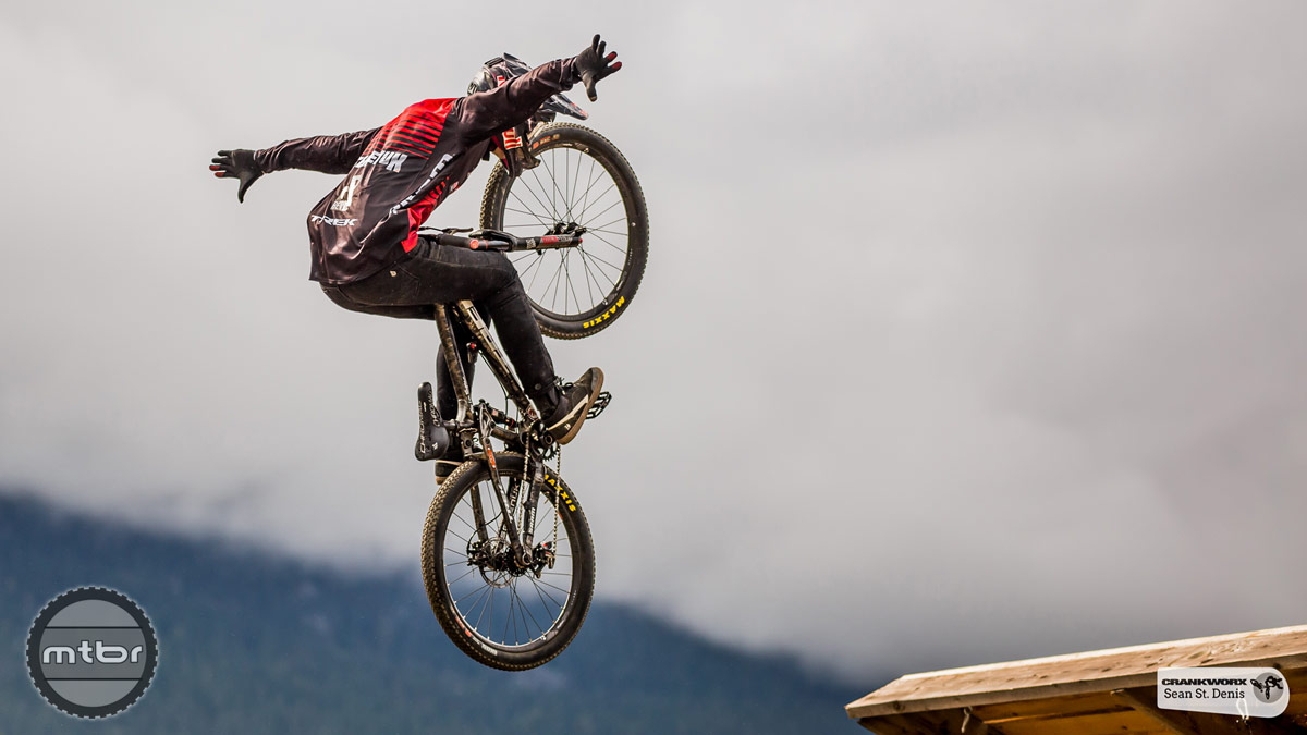Brandon Semenuk 2015 Joyride Training. Photo by Sean St. Denis