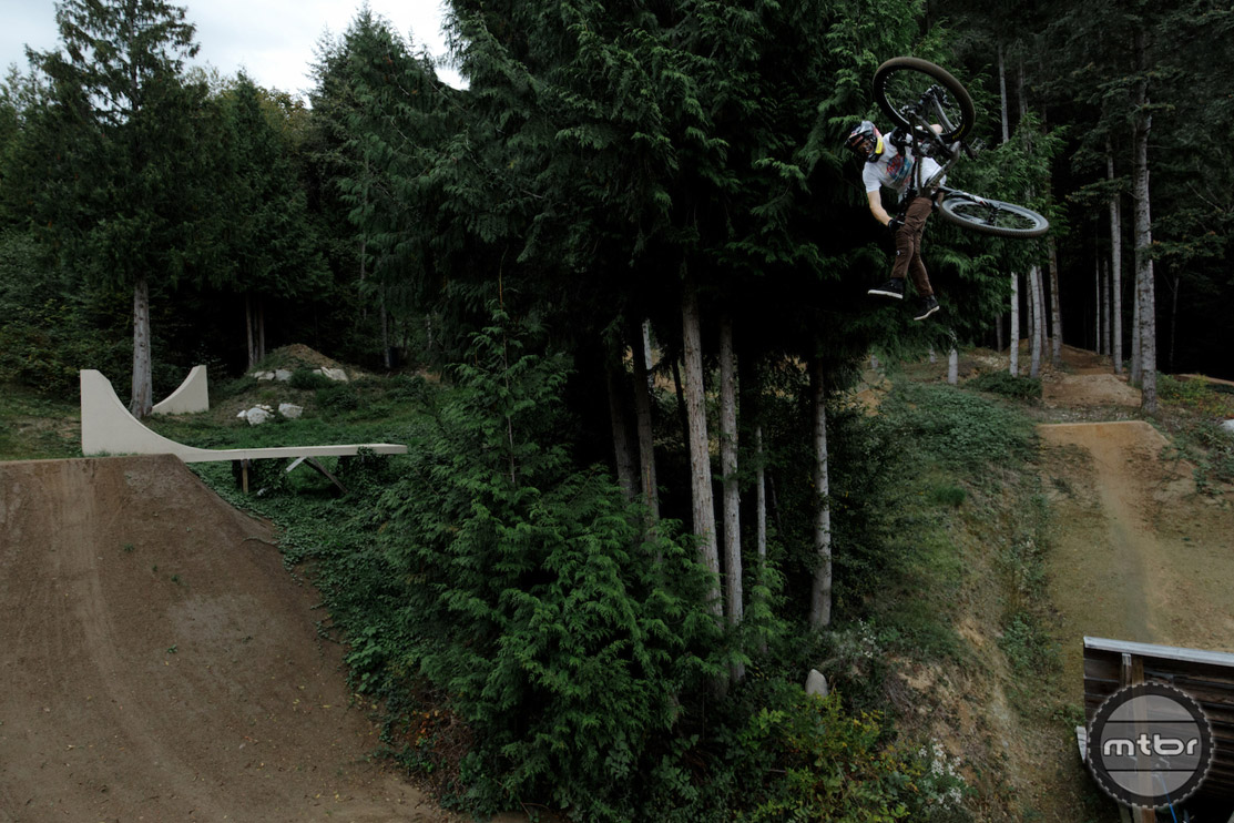 Brandon Semenuk's riding and creative vision are on another level. Photo by Toby Cowley
