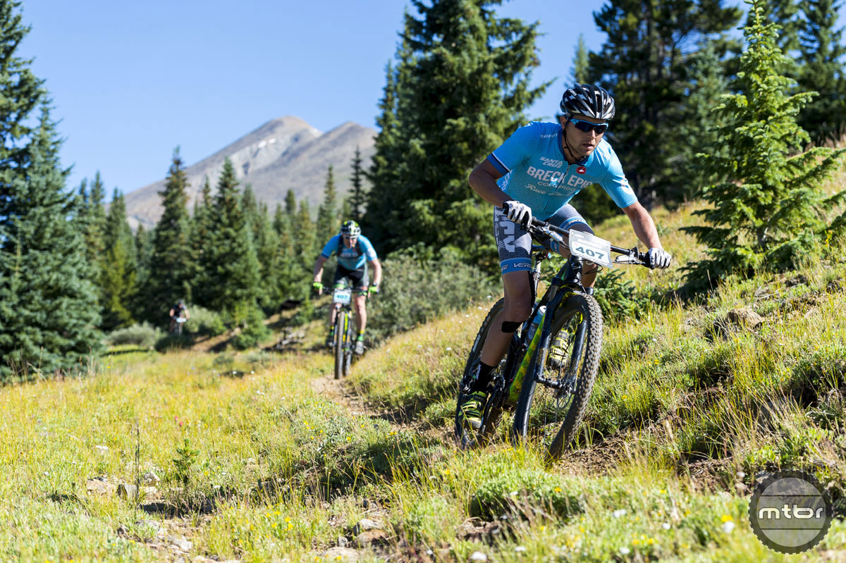 Niner PR man Brad Cole raced the new bike at August's Breck Epic XC stage race.