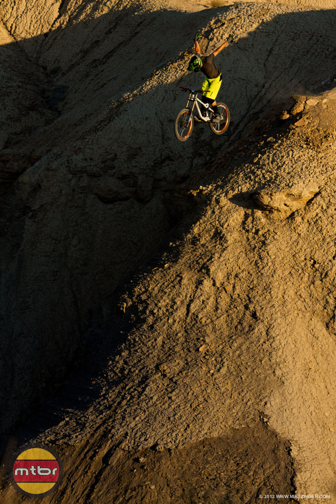 Brendan Howey in Green River Utah shows us Spike Race28's aren't just for Dh