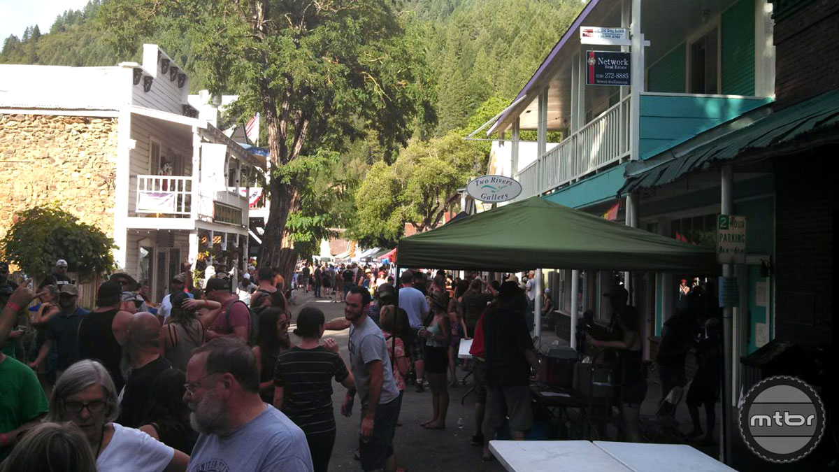 The First Annual Downieville Mountain Brewfest was a sellout success.