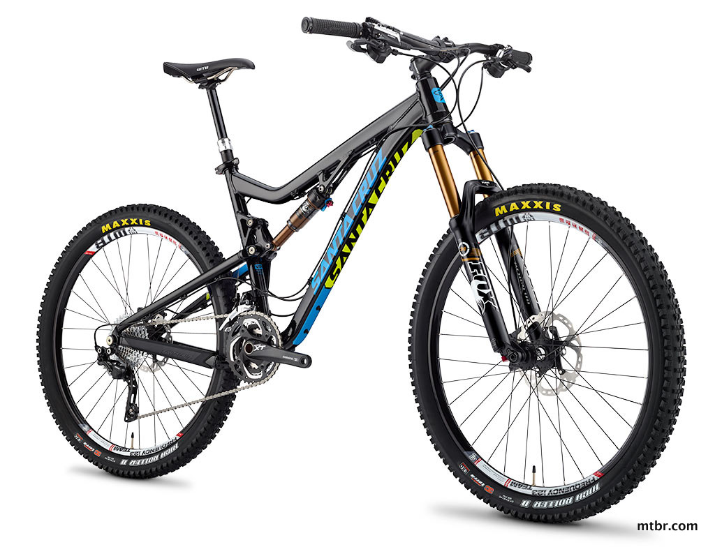 Santa Cruz Bronson Aluminum Bike in Black